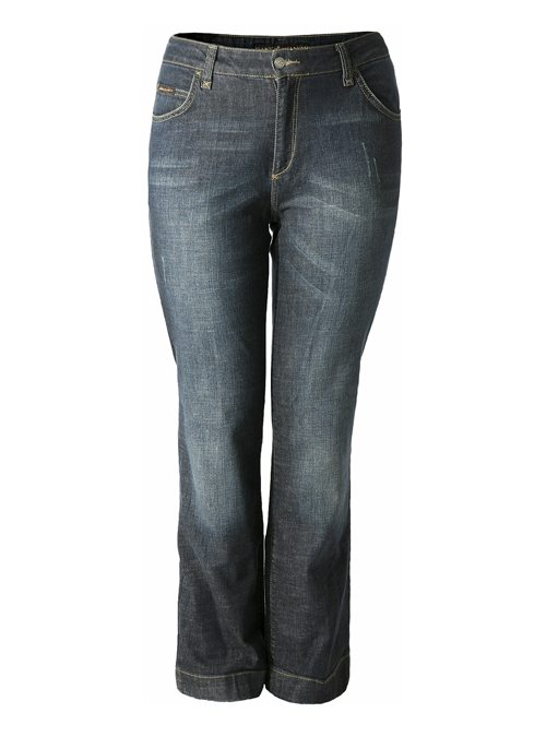 Fitted-non-fitted Jeans, Vintage Waschung