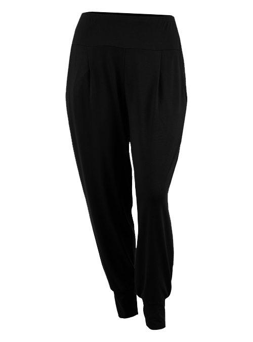 Leisure Pants, Midnight Black
