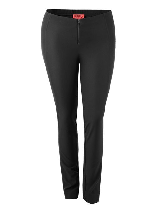 Complementing Pants Skinny Comfort, Black