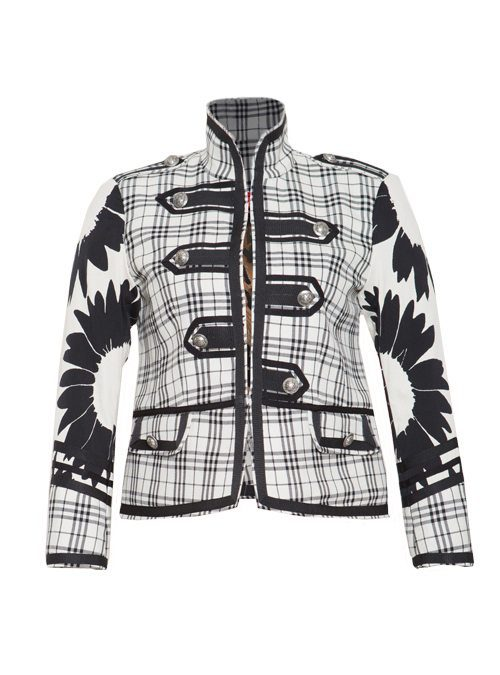 Military Jacket, Couture Army, black and white