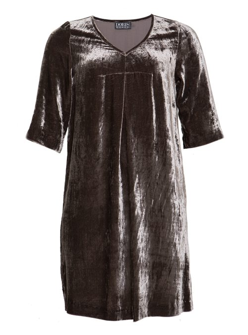 Pure Dress, Take it easy, Silbergrau, Velvet