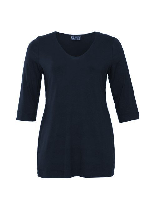 Basic Shirt, Miss Perfect, Midnight Blue