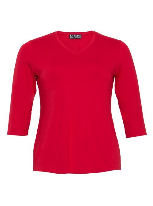 Miss Classic, Next Generation, Passion red, V-Neck