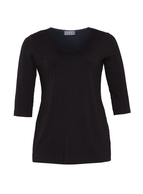 Basic Shirt, Miss Perfect, Black