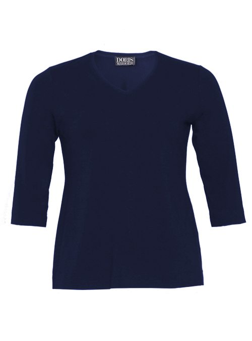 Miss Classic, Next Generation, V-Neck, Midnight Blue