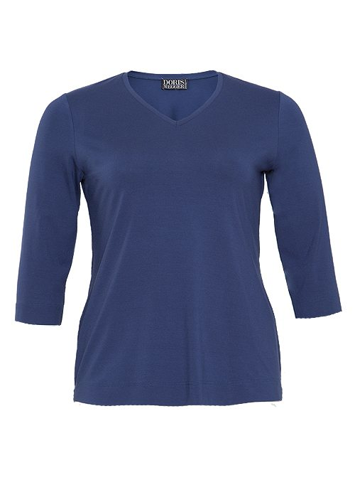 Miss Classic, Next Generation, Vintage Blue, V-Neck