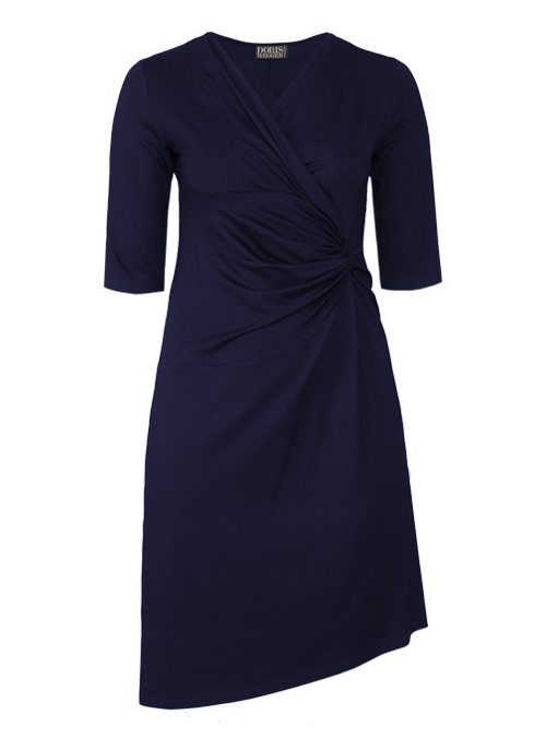 Dress Serenissima, Midnight blue, Legere Fit