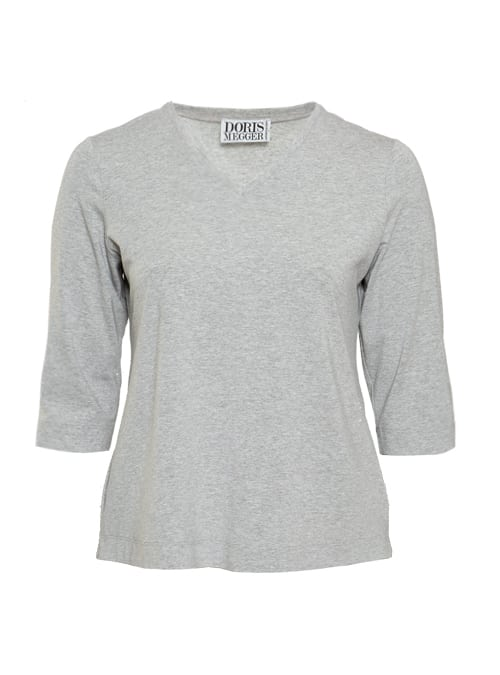 Miss Classic, Next Generation, Light Grey, V-Neck
