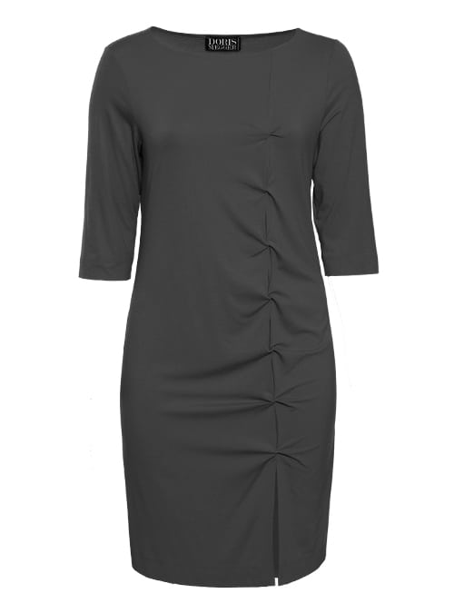 W-Dress Clean Cut, Shaped Fit, Black