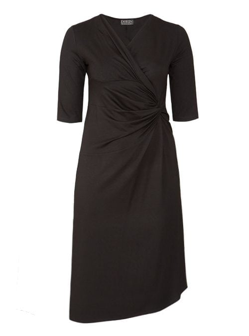 Dress Serenissima, Black, Midi Edition