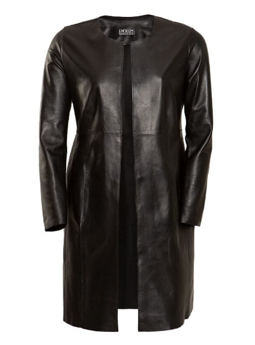 The Allrounder, Soft Black Leather Coat