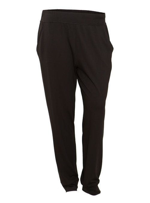 Leisure Trackpants, Jersey, Black