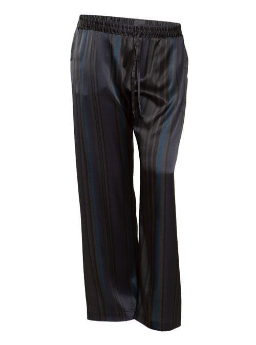 Silkpants, Dark Stripes, Wide Leg