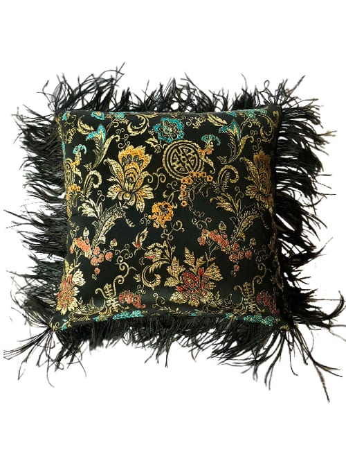 One and a half Pillow, Bohemian Rhapsody, Small, Feathers