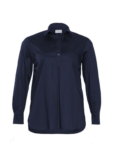 Best Blouse ever, Long back, Midnight blue