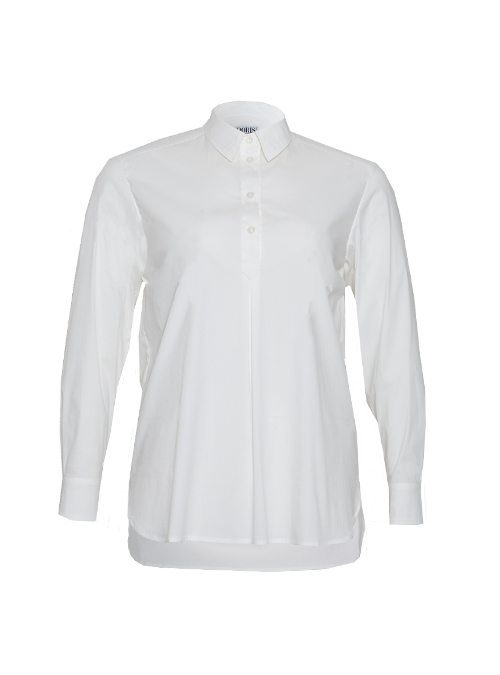 Best Blouse ever, Long back, Classic White