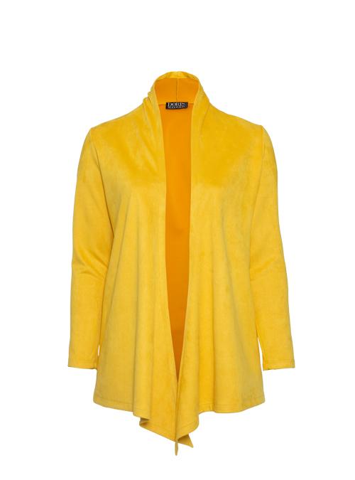 Change Jacket, Safran, Velvet Leather