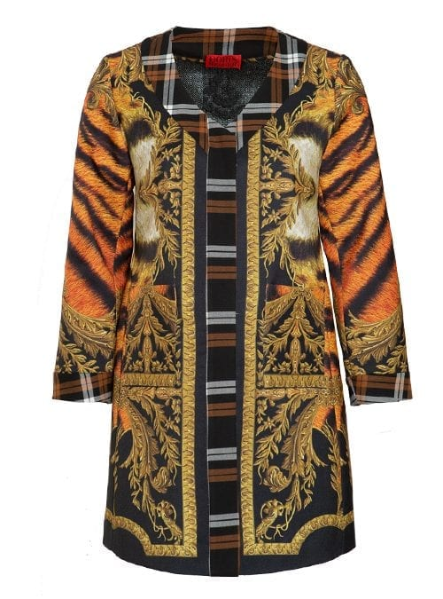 Coat Very Mystic Tiger, Perfect Fitted Cut