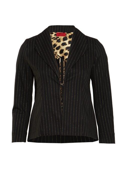 Dresscode Blazer, Smart Fit, Golden Pinstripes