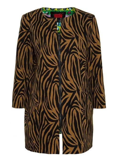 Zip Coat, Wild life, Dynamic Style