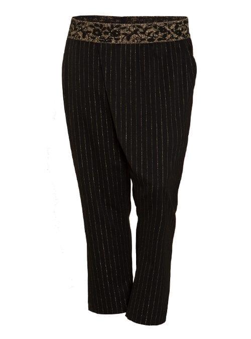 Dresscode Pants, Golden Pinstripes