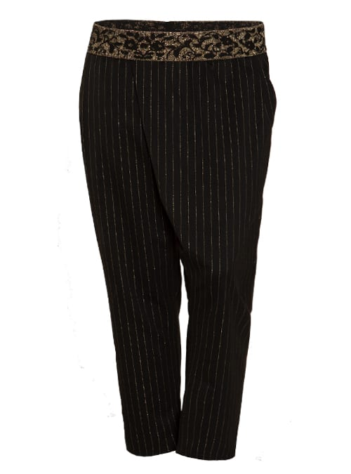 Dresscode Pants, Golden Pinstripes