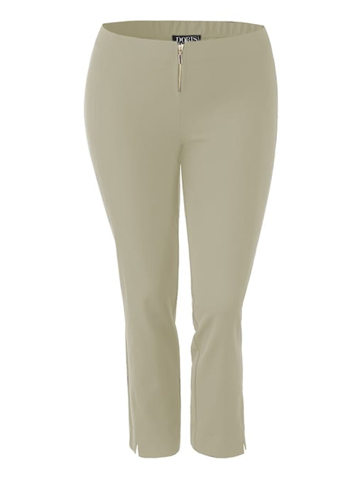 Complementing Pants, Cropped Classic, Sand