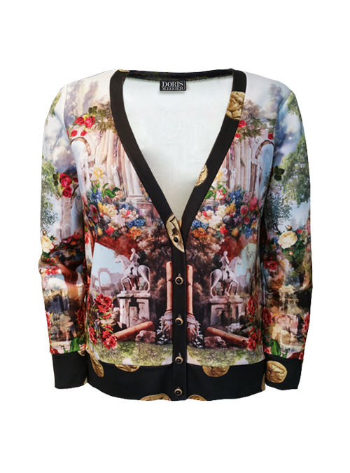 Lifestyle Sweater, Paradise Garden, Golden Coins