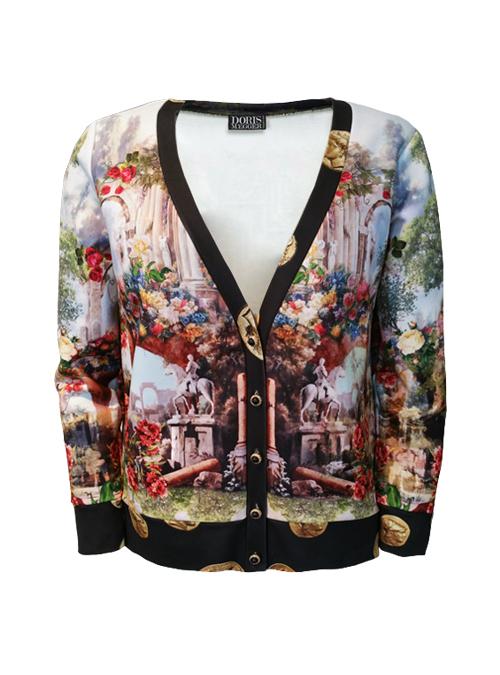 Lifestyle Sweater, Paradise Garden, Golden Coins