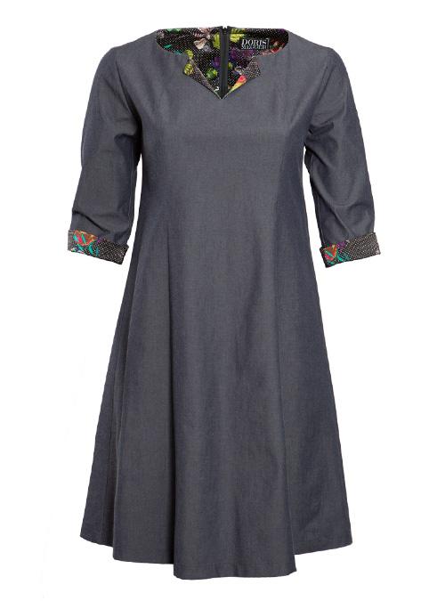Dress, La Traviata, Chambray Edition