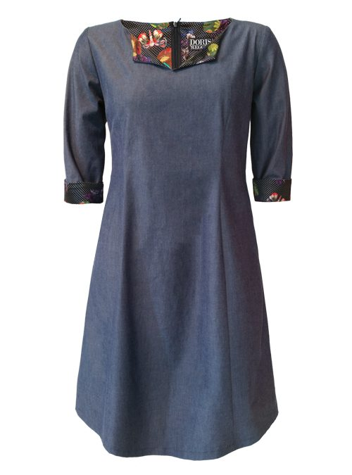 Dress, La Traviata, Chambray Edition