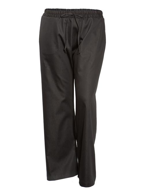New Era Pants, Wide Leg, Chambray