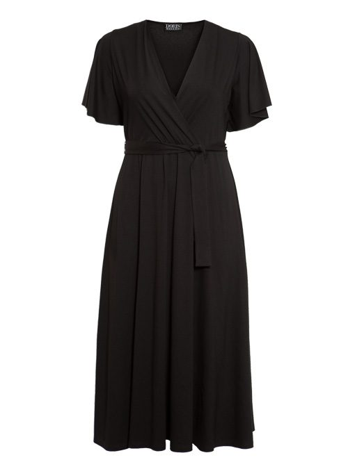 Riva Dress, Nero Intenso