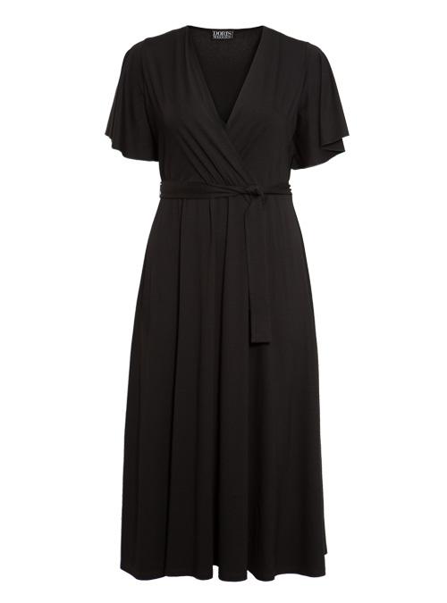 Riva Dress, Nero Intenso