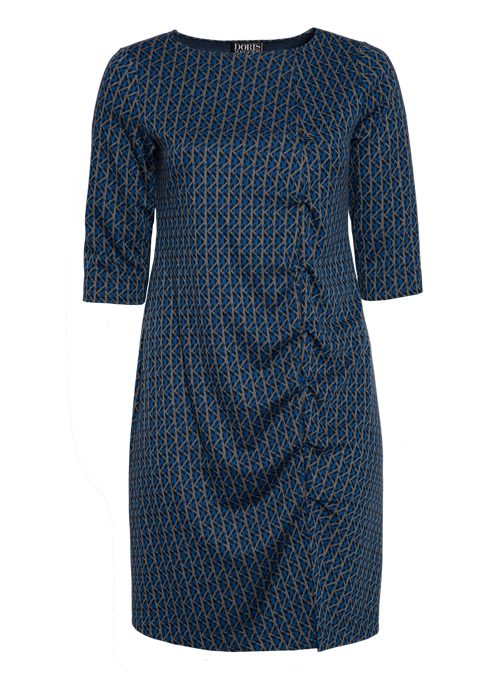 W-Dress Clean Cut, Business Edition, Graphic Jaquard