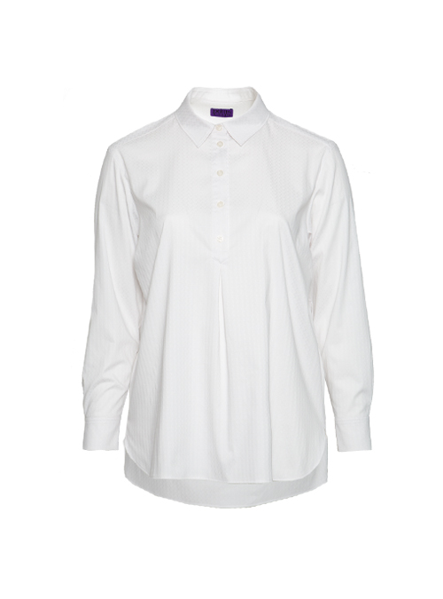 Best Blouse ever, Long back, White Jaquard