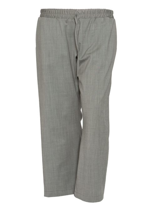 Suitpants, Wide Leg, Bright Grey