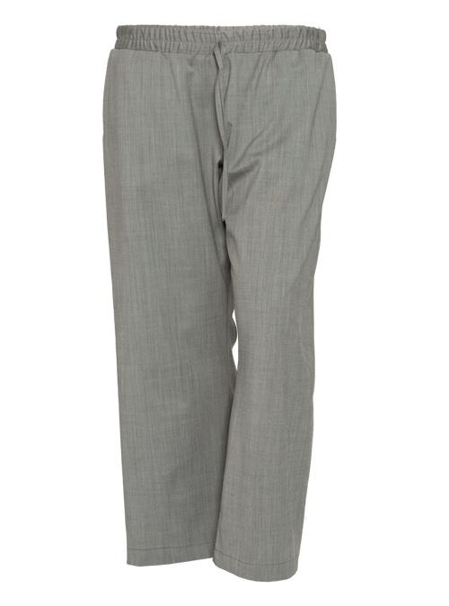 Suitpants, Wide Leg, Bright Grey