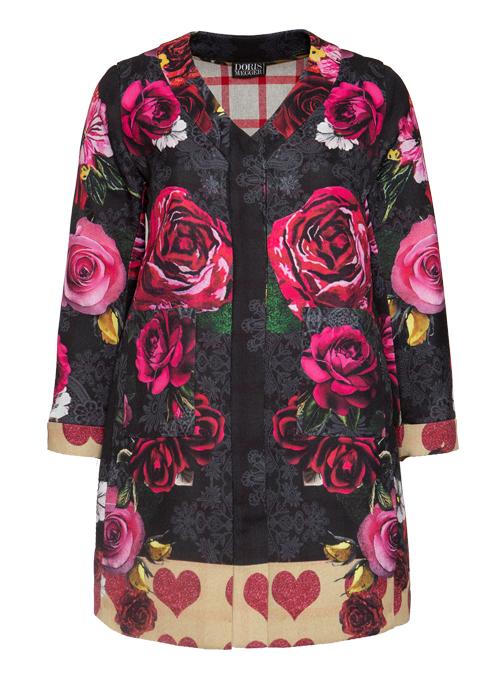 Coat La Vie en Rose, Perfect Fitted Cut