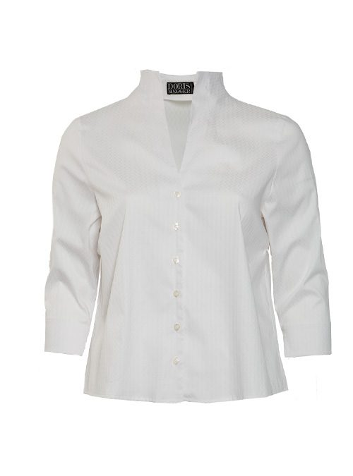 Spot on Blouse, Perfect White