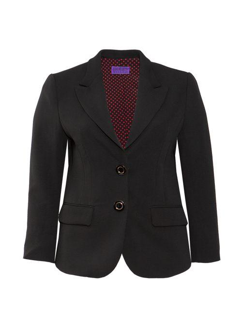 Tailored Blazer, Neo Classic, Ink Black