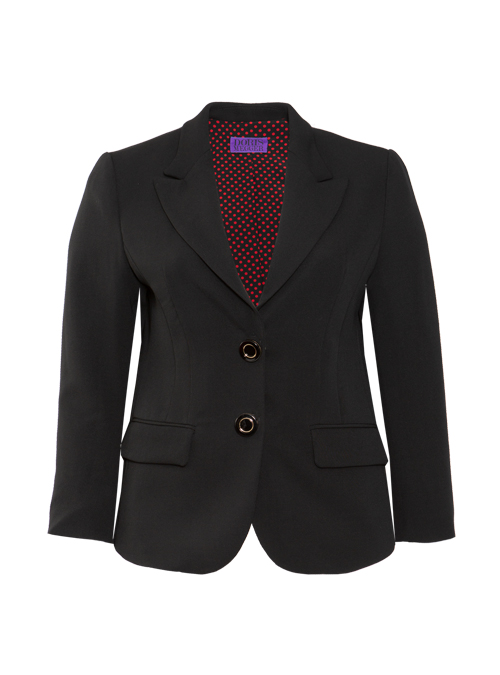 Tailored Blazer, Neo Classic, Ink Black