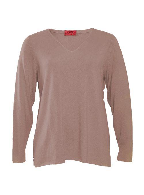 Cashmere Pullover V-Neck, Filati Loro Piana, Caramel
