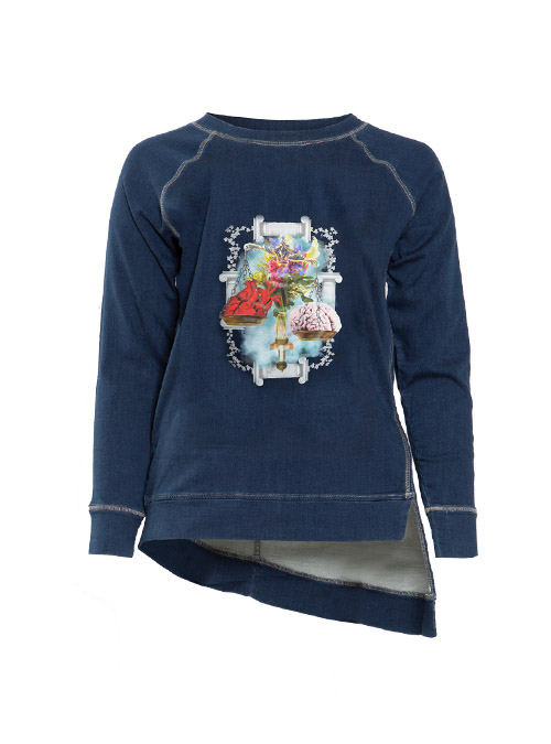 Cake and Candy Sweater, Printed Edition, Mind over matter