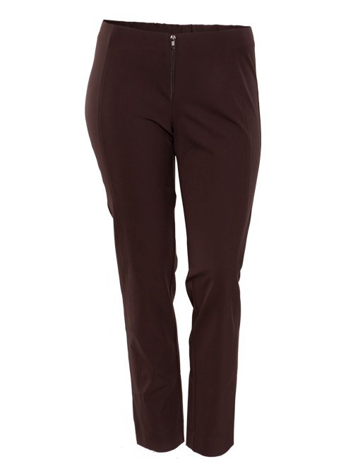 Complementing Pants Skinny Comfort, Chestnut