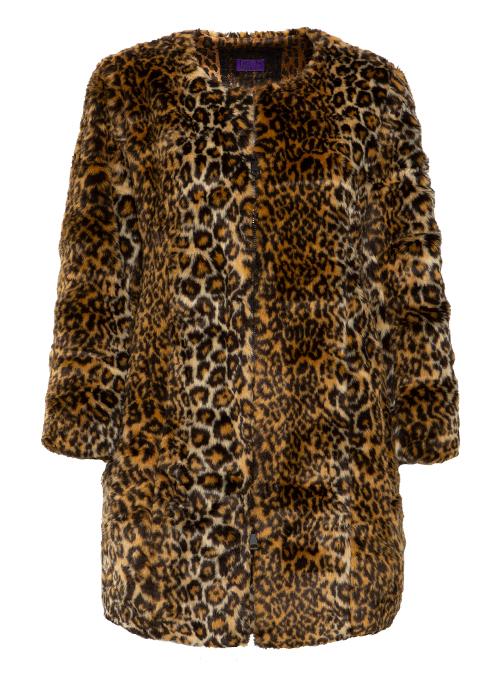 Webpelz Coat, Leo Luxury