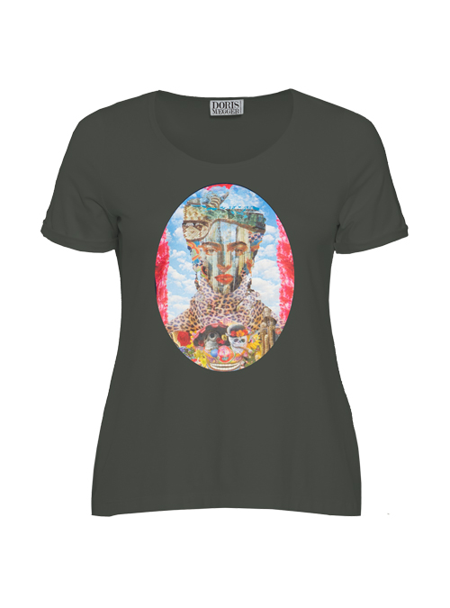 Doris Statement Shirt, Art Edition, Frieda