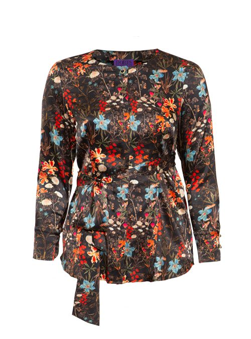 Two-in-one Smartblouse, Silk