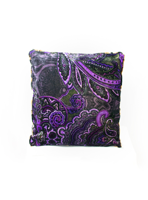 Diva Cushion, Purple Velvet