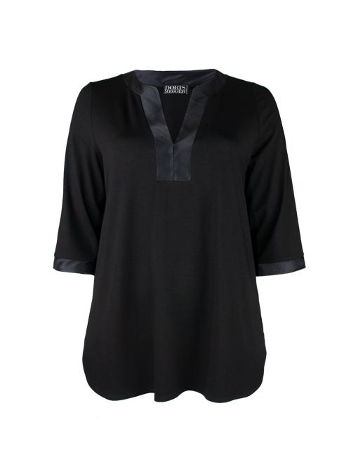 Tunique de Luxe, Black temptation, Silk Edges